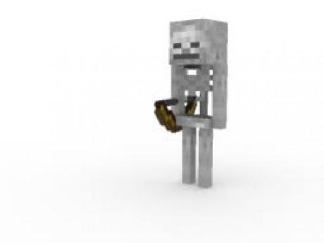 Как сделать скелета наездника в майнкрафт